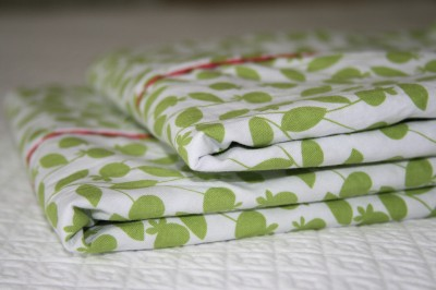 rick rack pillowcase