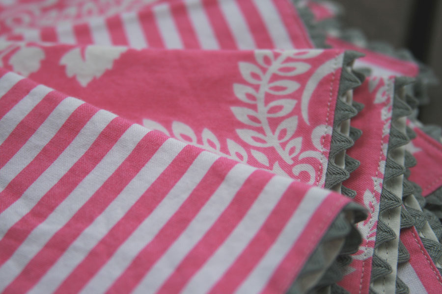 Fitf Weekend Project Rick Rack Napkins Film In The