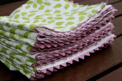 rick rack napkins