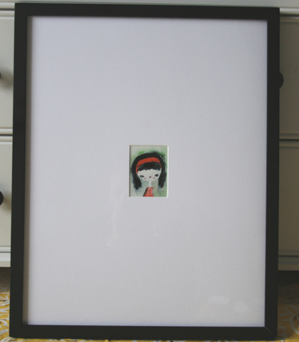Fitf how to give small art a bigger presence film in for Large a frame