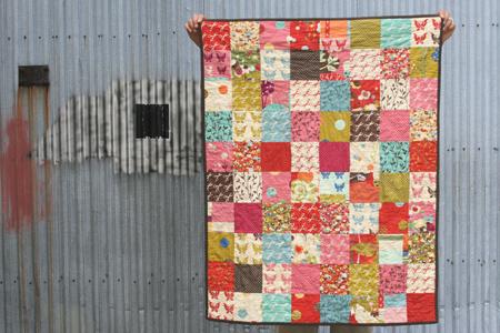 FITF Baby Wonderland III Film In The Fridge Custom Simple Square Quilt Patterns