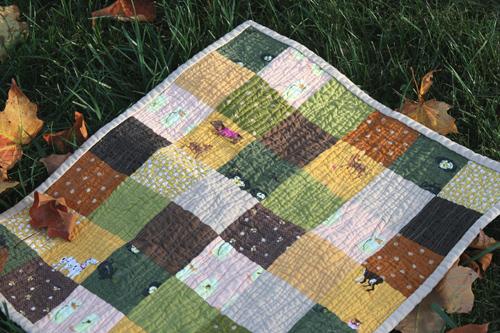 Large Patch Quilt