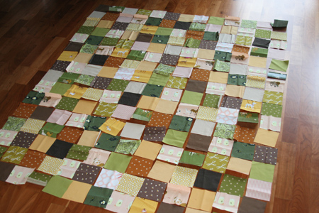 fall-quilt-pre-sewing