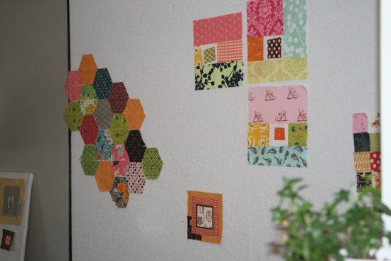 Design Wall For Quilting fitf: a new design wall (and other weekend scenes) | film in the