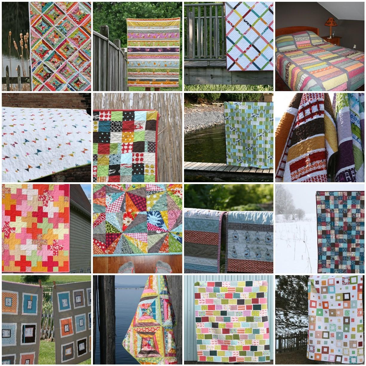 fancy lattice baby quilt,