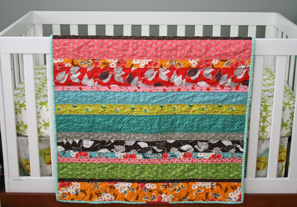 Easy strip quilts for beginners