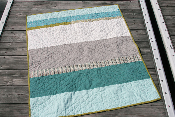 FITF: the manly baby quilt | Film in the Fridge : quilt backing - Adamdwight.com