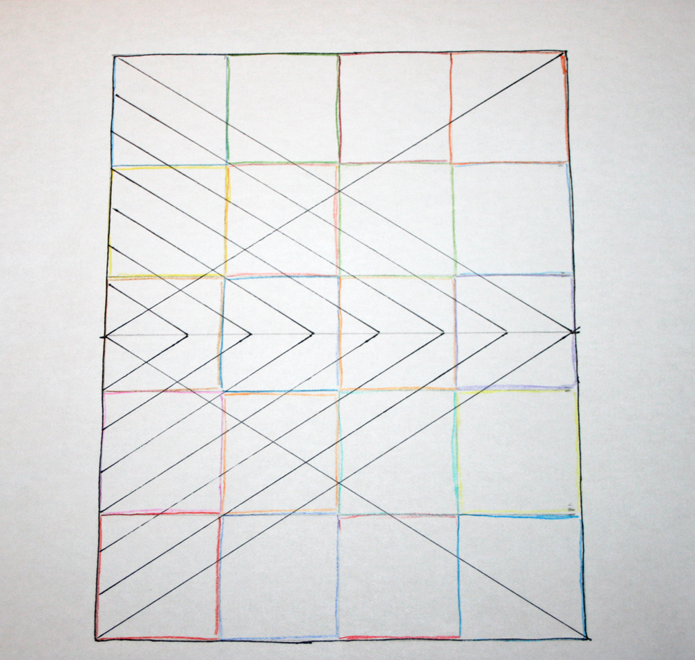 Drawing Lines For Quilting : Fitf big diamond little a straight line