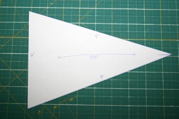 Fitf Scrappy Triangles A Quilt Block Tutorial Film In The Fridge