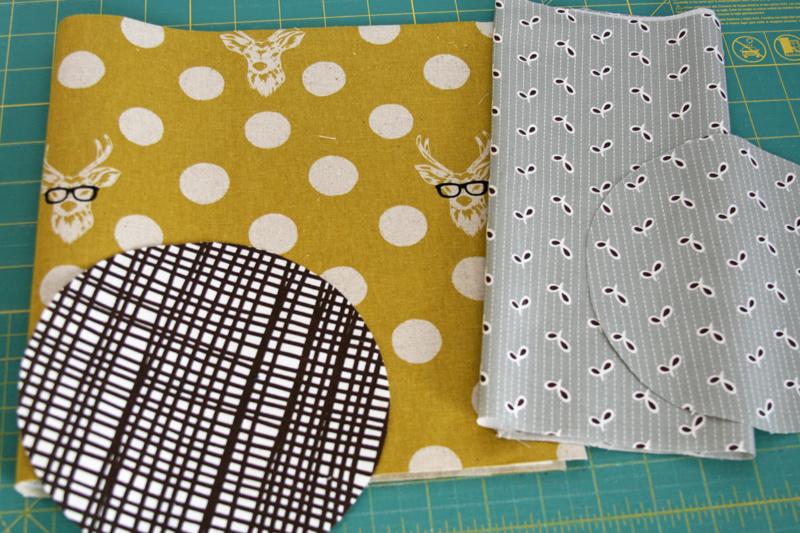 Cut ... & FITF: Round bottomed fabric storage buckets u2013 a tutorial | Film in ...