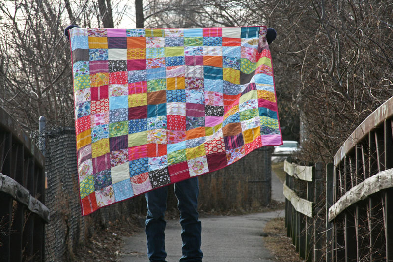 FITF: a voile quilt/blanket for me! | Film in the Fridge : blanket quilt - Adamdwight.com