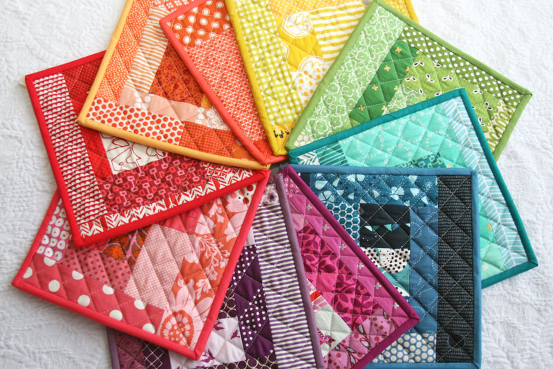 Image result for handmade quilted pot holders